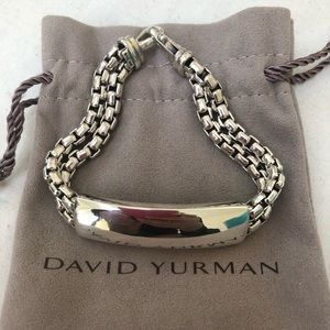 🔴Authentic DAVID YURMAN Double ID Bracelet ♥️